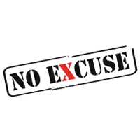logo no excuse