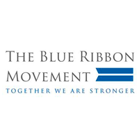 logo the blue ribbon movement