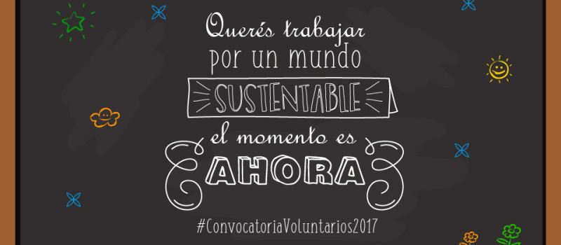 Convocatoria de Voluntarios 2017